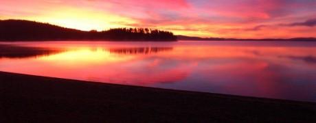 Soluppgång över Dellendröm