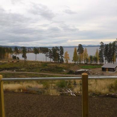 Utsikt över sjön från tomt C14